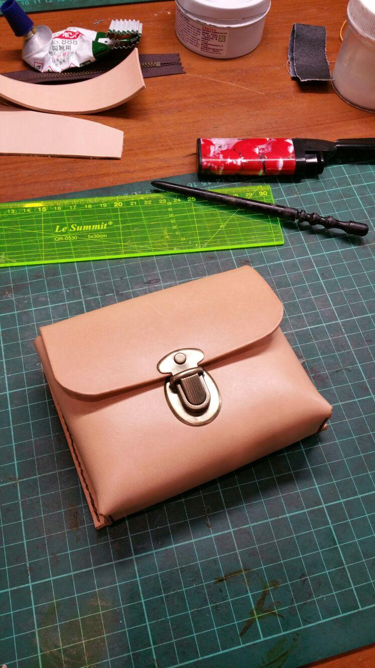 Handmade Leather Crafts Workshop Kursus Pemula Klook Coin Holder Tempat Koin Di Mobil