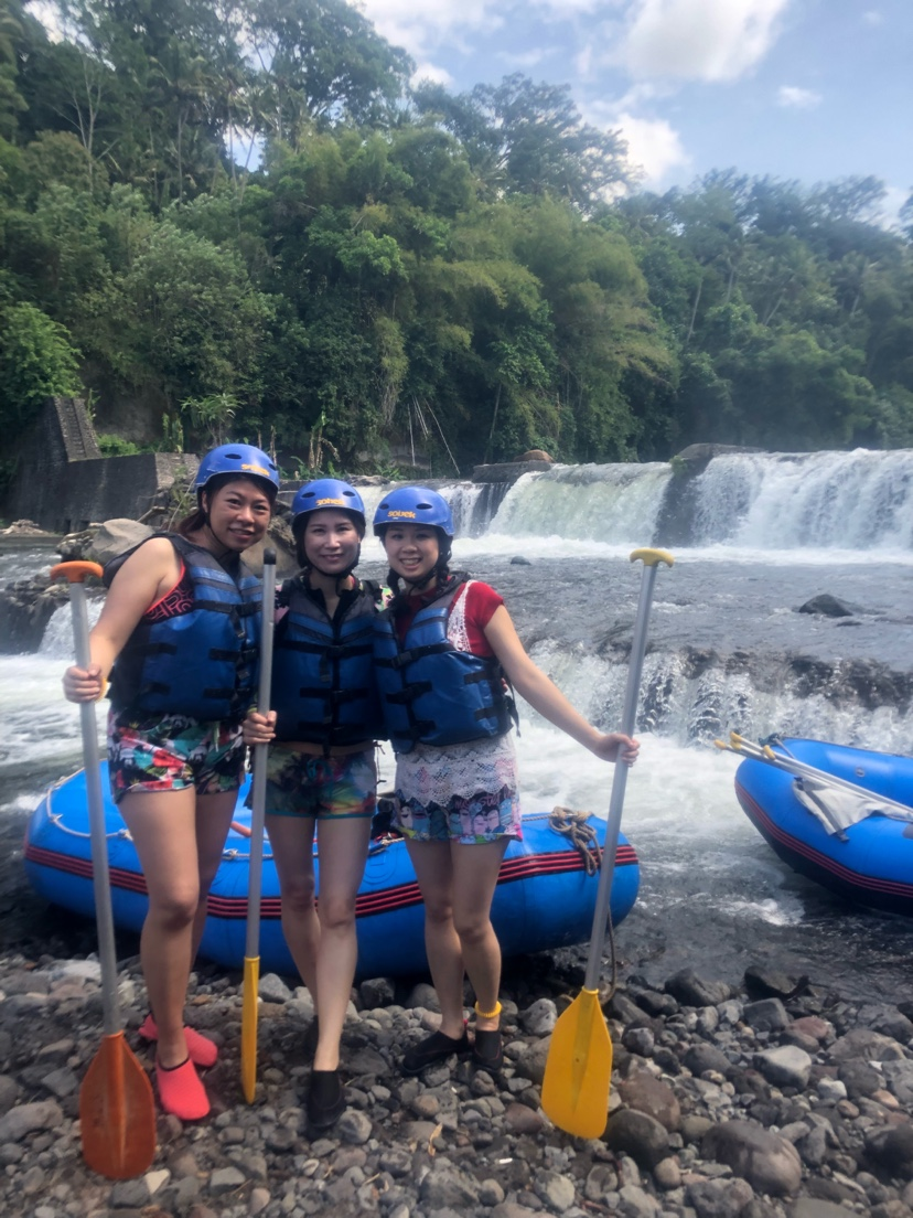 Telagawaja White Water Rafting Klook Tiket Sungai Ayung Bali Ter Short