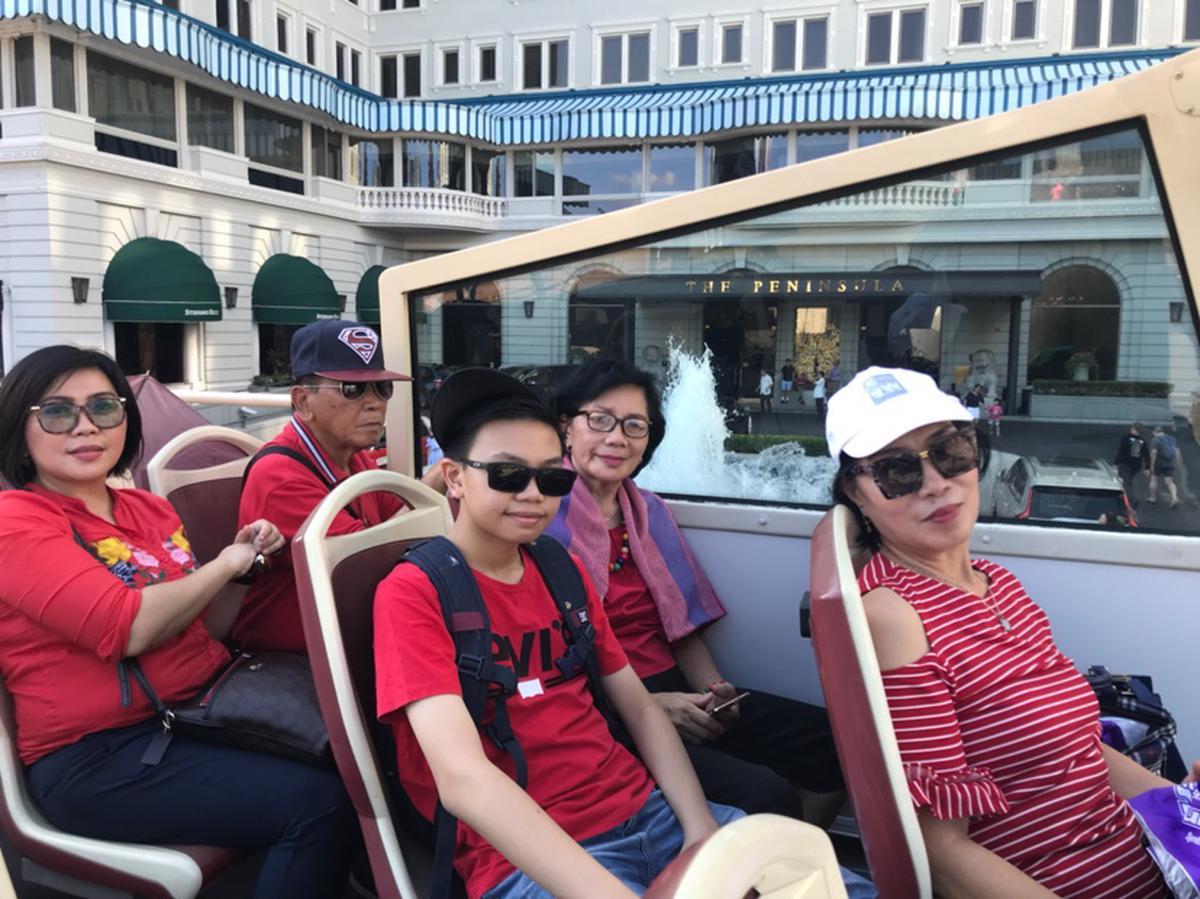 Tiket Diskon Tur Hong Kong Big Bus Klook Peak Tram Sky Pass Roundtrip Ride Terrace Anak 3 11