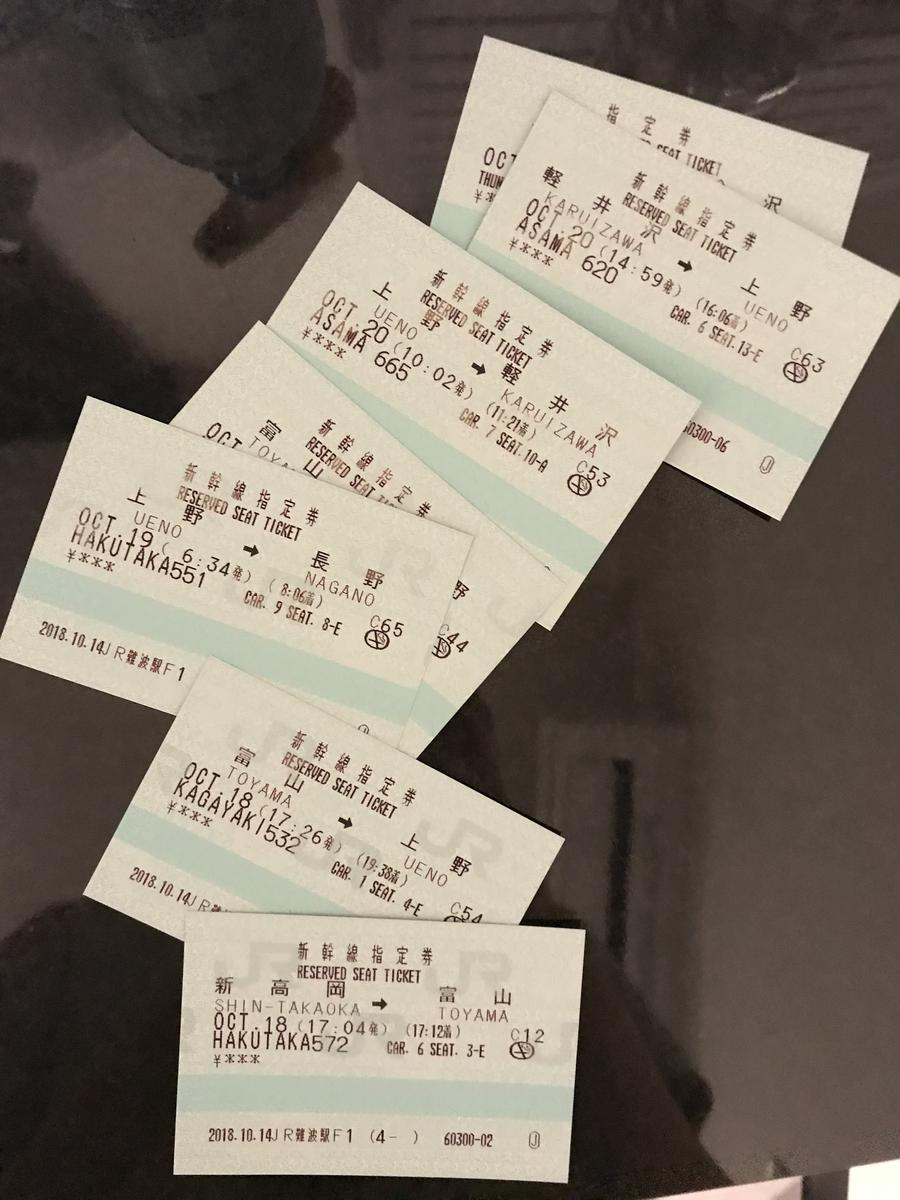 Pass 7 Hari Jr Hokuriku Arch Klook Tokyo Osaka Dewasa