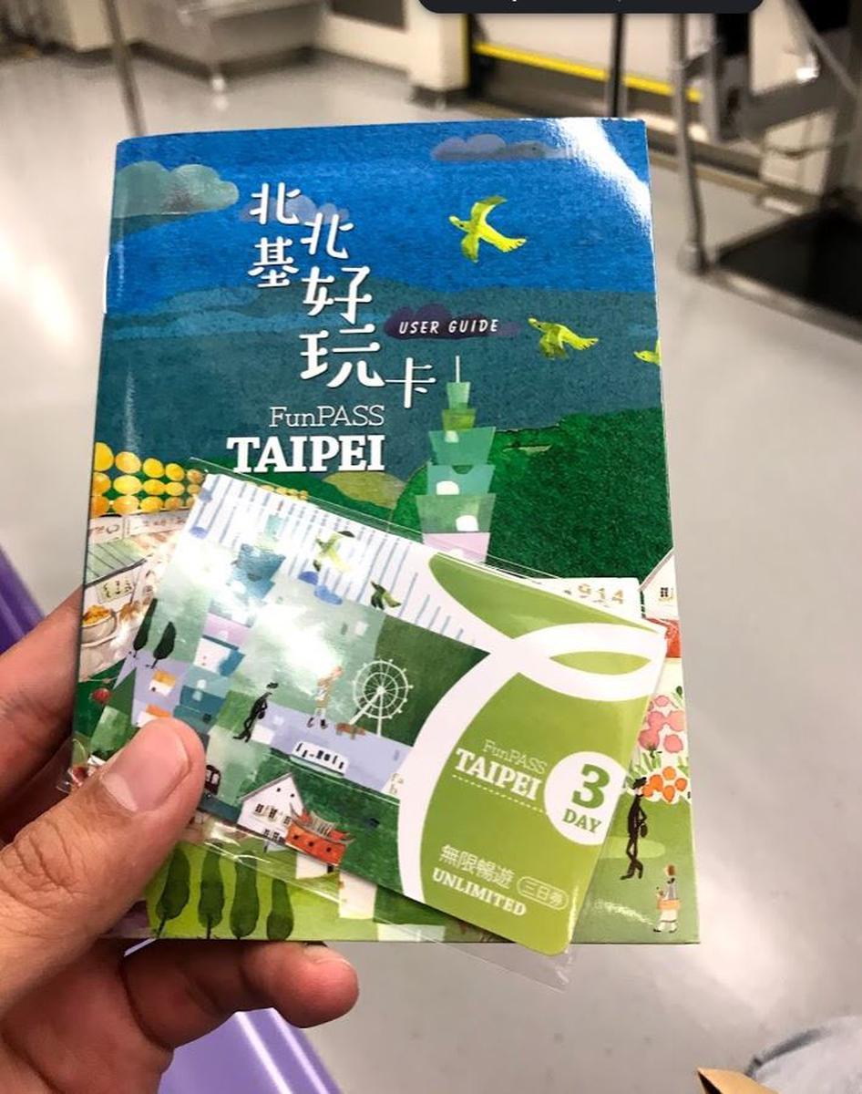 Thẻ Taipei Fun Pass Không Giới Hạn (Nhận ở TPE)- Klook