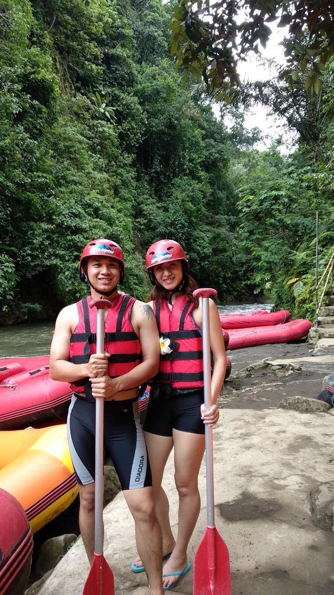 Ayung River White Water Rafting In Bali Klook Tiket Di Sungai