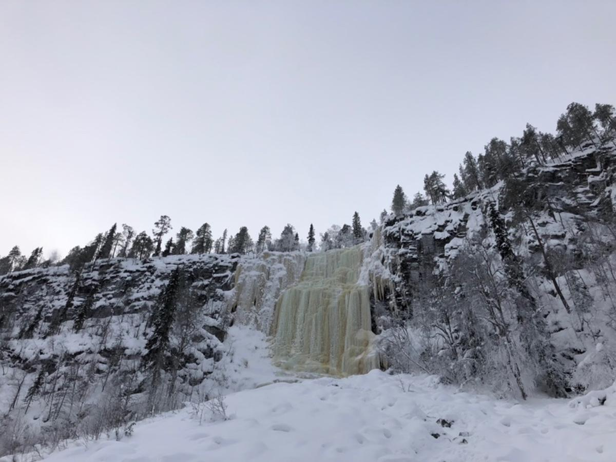 Korouoma Frozen Waterfalls Day Tour from Rovaniem, Lapland