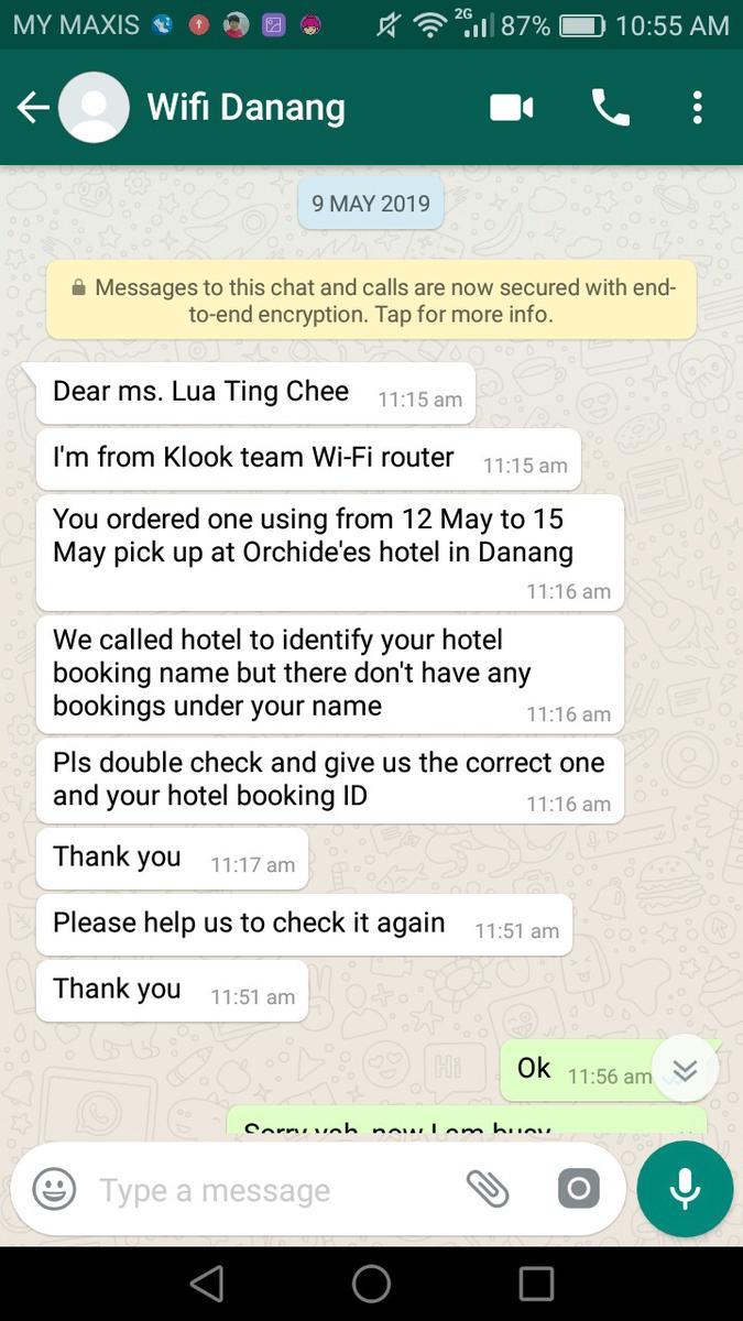 3G WiFi Device - Da Nang Hotels Pick Up for Vietnam - Klook