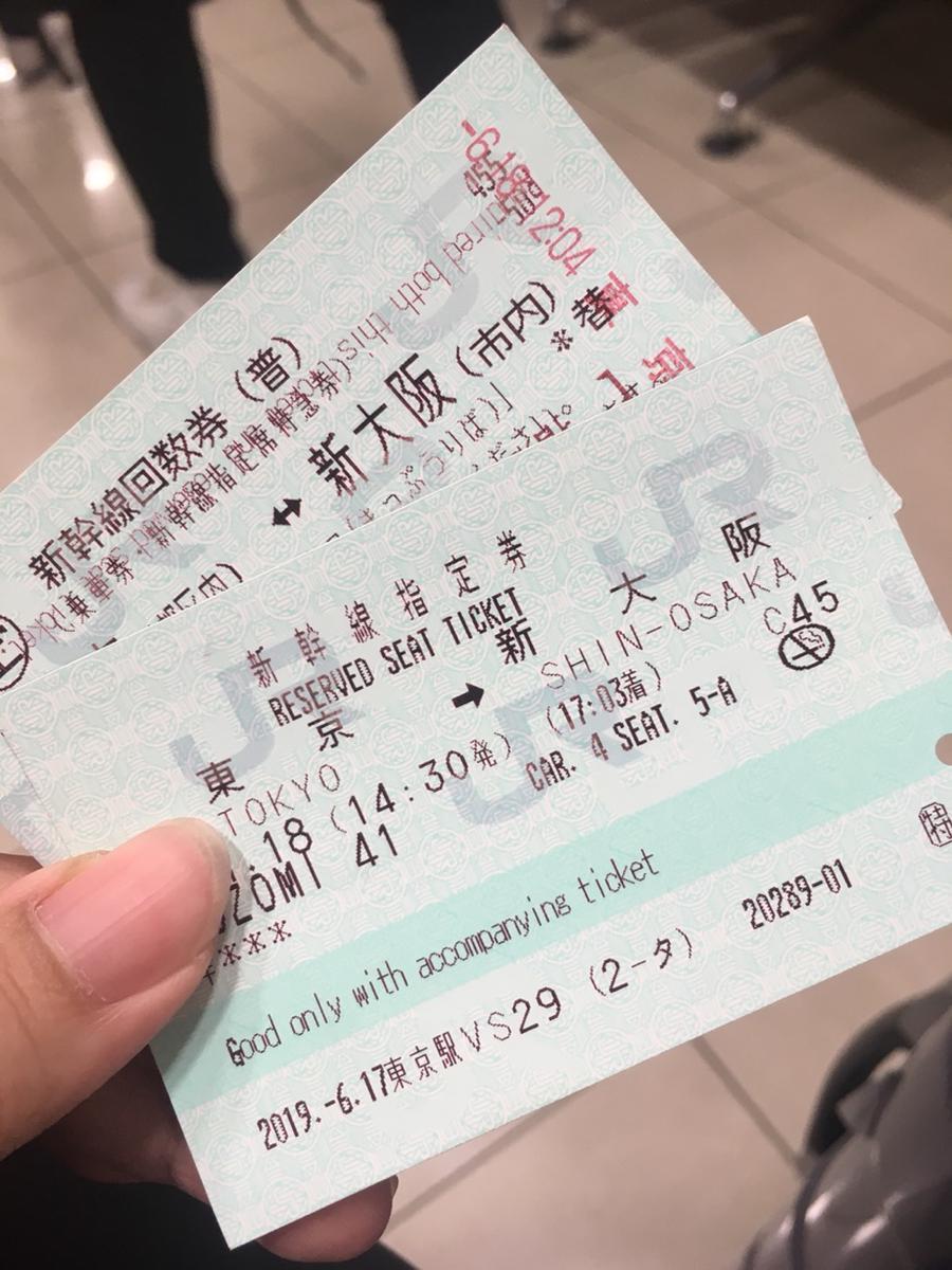 Shinkansen Bullet Train Ticket from Tokyo to Osaka or Kyoto
