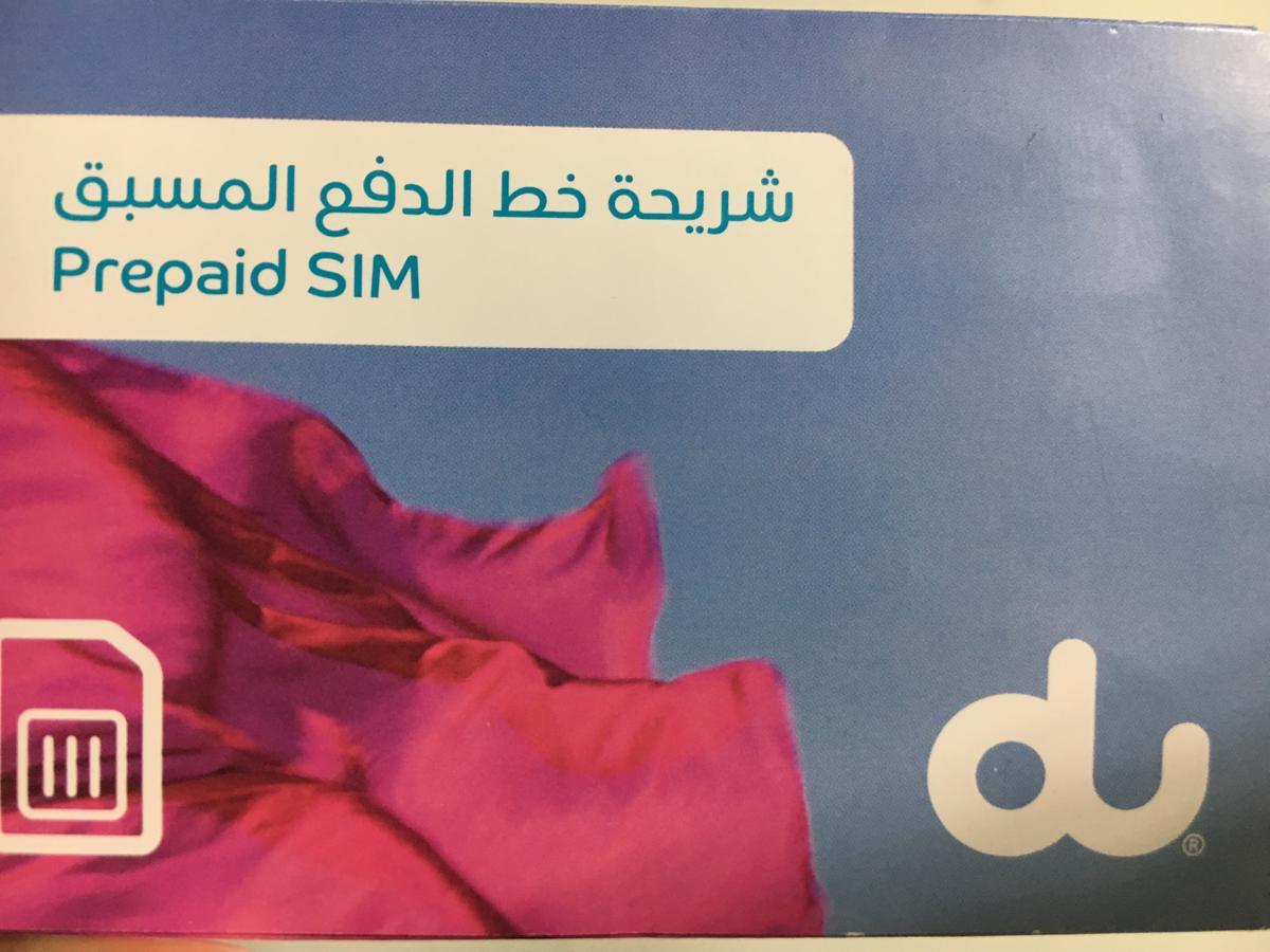 Internationale Sim Karte.4g Sim Card Dxb Airport Pick Up For Uae From Dubai Klook Klook