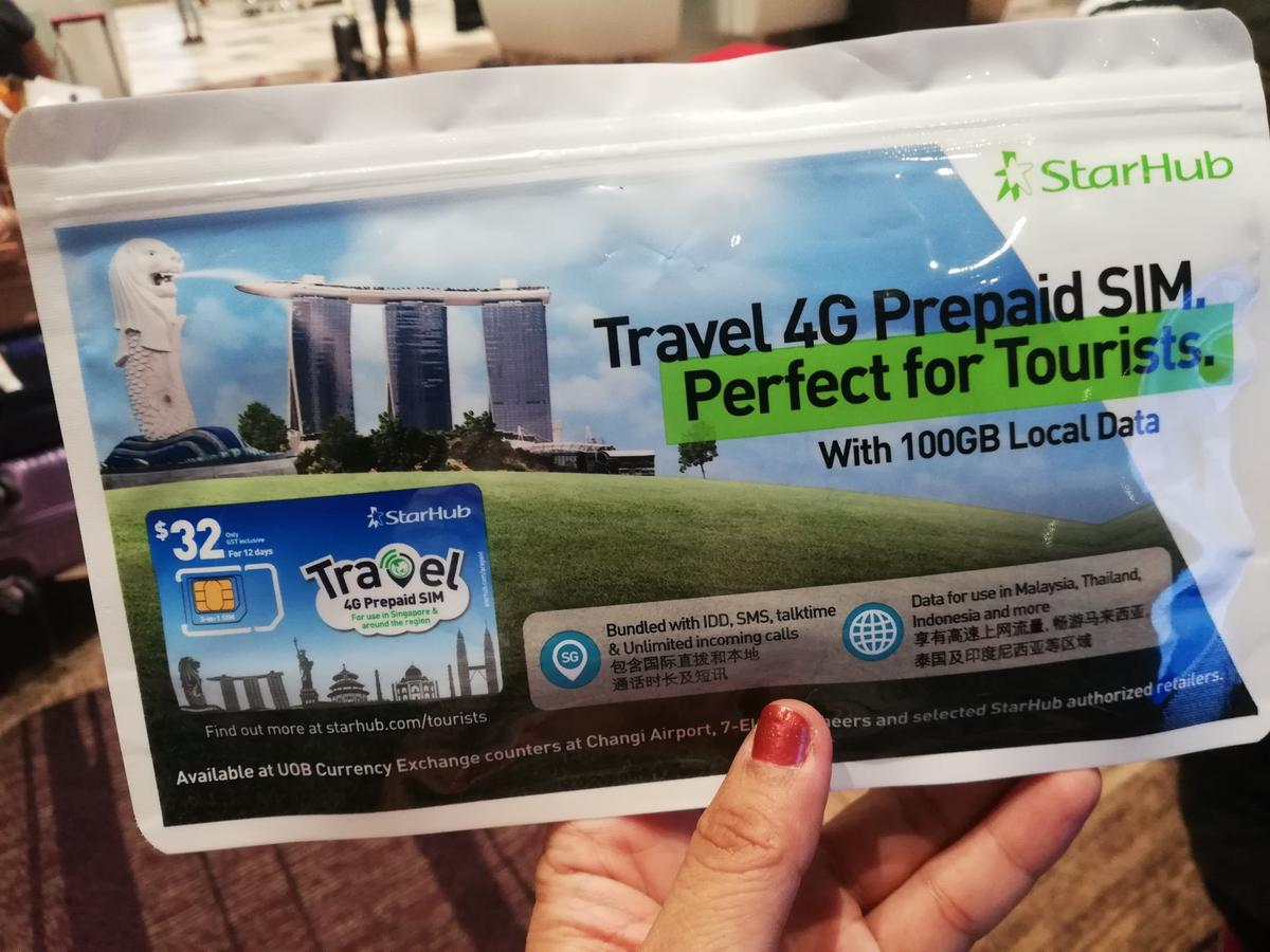 Singapore 4G Travel SIM Card Changi Airport Pick Up - Klook