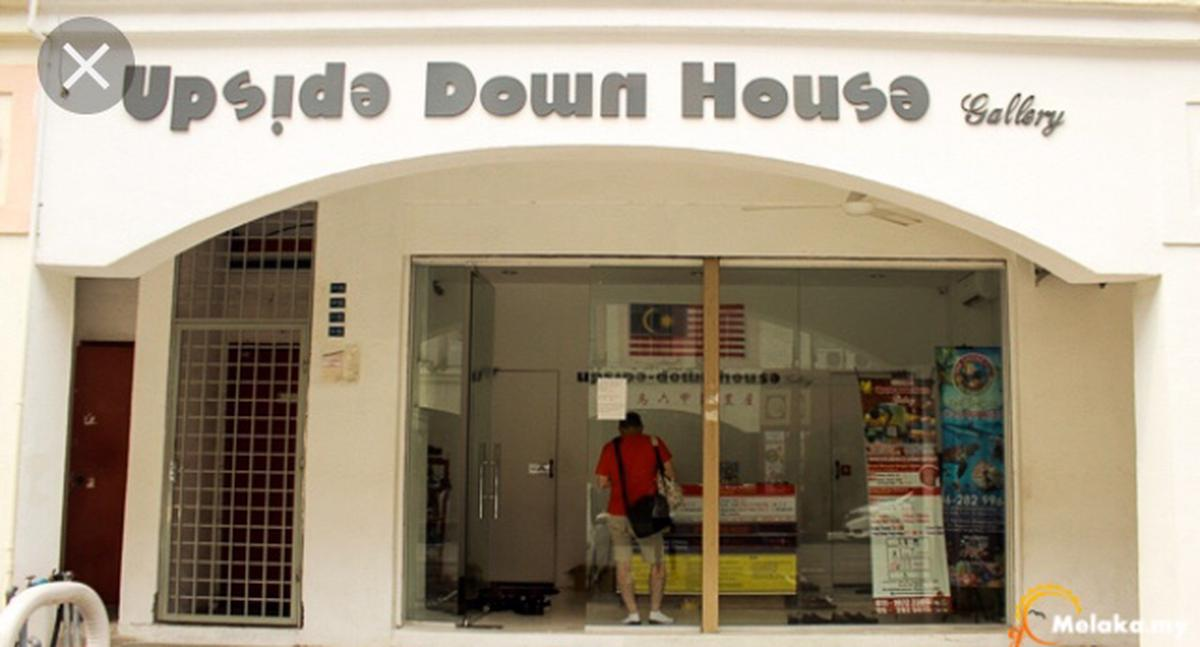 Upside Down House Gallery Admission Ticket In Melaka