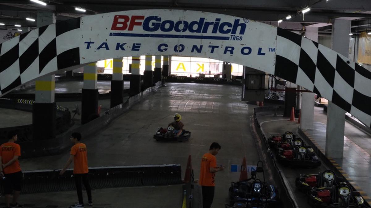 Indoor Go Karting Experience by EasyKart Bangkok, Thailand