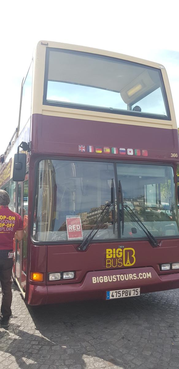 Paris Big Bus Hop-On Hop-Off Tours (Open-Top) - Klook