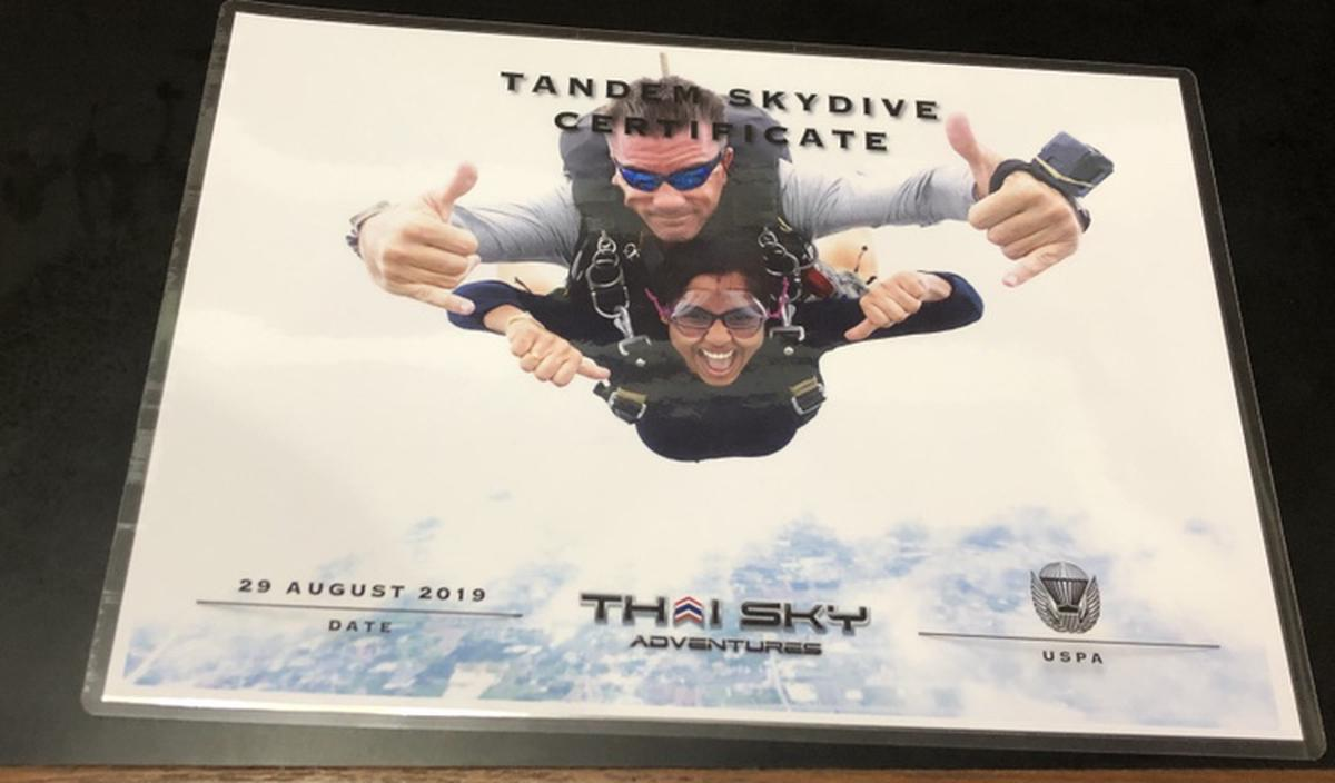Tandem Skydiving by Thai Sky Adventures in Pattaya, Thailand