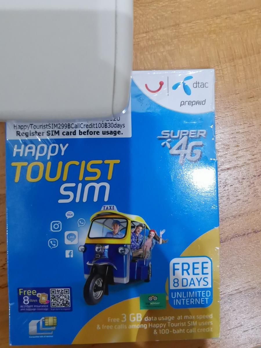 [SALE] 4G SIM Card (Thailand Pick Up) for Thailand